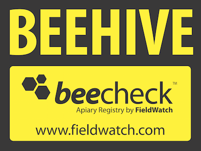 Beecheck Sign